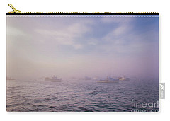 Hazy Sunset In Bar Harbor Maine Carry-all Pouch