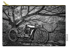 Hd Cafe Racer  Carry-all Pouch by Louis Ferreira