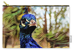 Carry-all Pouch featuring the photograph He Is From An Upper Class Background by Steve Taylor