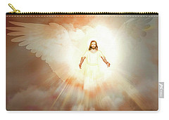 Carry-all Pouch featuring the painting  He Is Risen by Valerie Anne Kelly