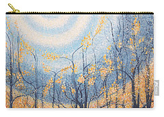 Carry-all Pouch featuring the painting He Lights The Way In The Darkness by Holly Carmichael