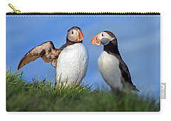He Went That Way Carry-all Pouch by Betsy Knapp