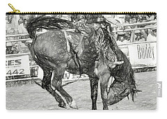 Head Down Carry-all Pouch by Steven Parker