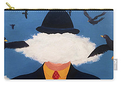 Head In The Cloud Carry-all Pouch by Thomas Blood