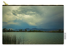 Carry-all Pouch featuring the photograph Head In The Clouds by James BO Insogna
