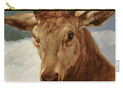 Head Of A Stag Carry-all Pouch