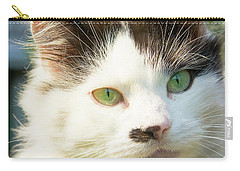 Head Of Cat Carry-all Pouch