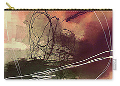 Carry-all Pouch featuring the painting Head Of Psychology Rose by Tatiana Iliina