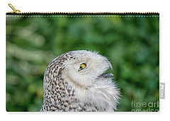 Head Of Snowy Owl Carry-all Pouch