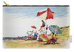 Head  Of The Meadow Beach, Afternoon Carry-all Pouch