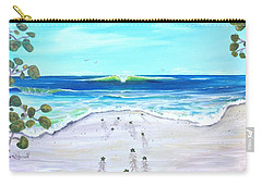 Carry-all Pouch featuring the painting Headed Home by Dawn Harrell