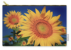Carry-all Pouch featuring the photograph Heading For Gold by Chris Berry
