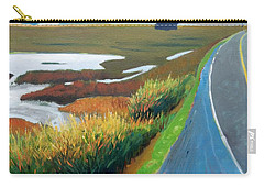 Carry-all Pouch featuring the painting Heading North by Gary Coleman