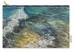 Carry-all Pouch featuring the painting Heading Out To Sea by Darice Machel McGuire