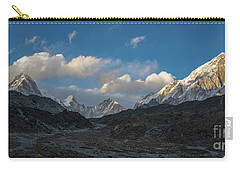 Carry-all Pouch featuring the photograph Heading To Everest Base Camp by Mike Reid