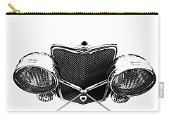 Carry-all Pouch featuring the photograph Headlights by Stephen Mitchell