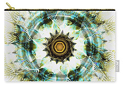 Carry-all Pouch featuring the digital art Healing Energy by Anastasiya Malakhova