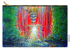 Carry-all Pouch featuring the painting Healing Waters by Heather Calderon