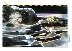 Carry-all Pouch featuring the digital art Healing Waters by Pennie  McCracken