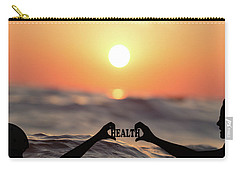 Carry-all Pouch featuring the photograph Health - Digital Art by Ericamaxine Price
