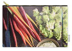 Carry-all Pouch featuring the photograph Healthy Food Veggie Salad Kitchen Chef Cuisine Birthday Christmas Festivals Mom Dad Festivals Sister by Navin Joshi