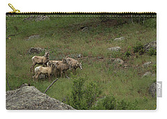 Hearding Goats Carry-all Pouch
