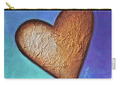 Heart Carry-all Pouch by Agata Lindquist
