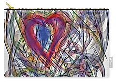 Heart In Motion Abstract Carry-all Pouch