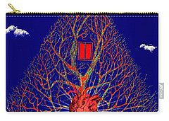 Heart Is The Abode Of The Spirit Carry-all Pouch by Paulo Zerbato