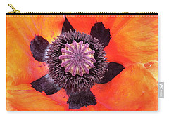 Heart Of A Poppy Carry-all Pouch