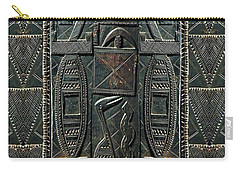 Heart Of Africa Carry-all Pouch by Lora Serra