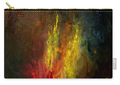 Heart Of Art Carry-all Pouch by Rushan Ruzaick