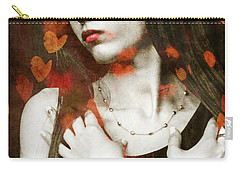 Carry-all Pouch featuring the digital art Heart Of Gold by Paul Lovering