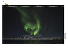 Heart Of Northern Lights Carry-all Pouch