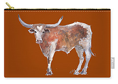 Heart Of Texas Longhorn Carry-all Pouch