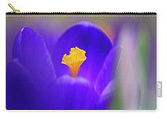 Heart Of The Crocus Carry-all Pouch