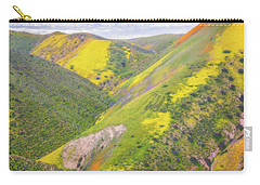 Carry-all Pouch featuring the photograph Heart Of The Temblor Range by Marc Crumpler