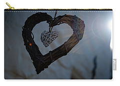 Heart With A Heart II Carry-all Pouch