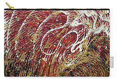 Heartbeat Carry-all Pouch by Cathy Beharriell