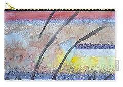 Carry-all Pouch featuring the painting Heartbeat by Jacqueline Athmann