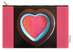 Hearts Afire Carry-all Pouch
