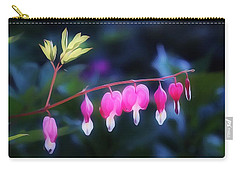 Carry-all Pouch featuring the photograph Hearts In The Dusk by Gabriella Weninger - David