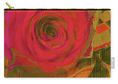 Hearts 'n Flowers-what Quarrel Carry-all Pouch