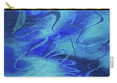 Heartsong Blue 1 Carry-all Pouch