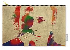 Heath Ledger Watercolor Portrait Carry-all Pouch
