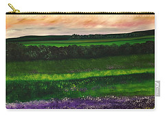 Heathcliff In Purple Carry-all Pouch