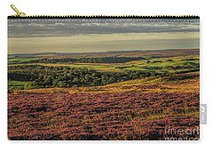 Heather On The Moors Carry-all Pouch