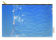 Carry-all Pouch featuring the photograph Waterfall by Ray Shrewsberry