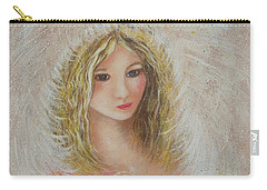 Carry-all Pouch featuring the painting Heavenly Angel by Natalie Holland