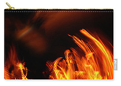 Heavenly Flame Carry-all Pouch by Donna Blackhall